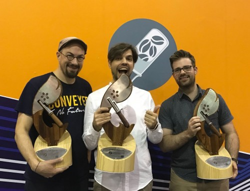 Rubens Gardelli representing Italy is the 2017 World Coffee Roasting Champion