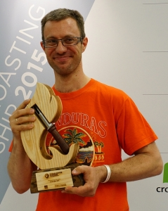 2015 World Coffee Roasting Champion